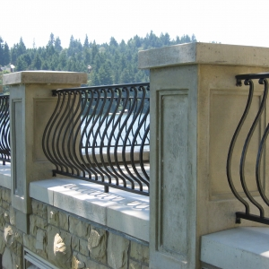 Belly Picket Railing