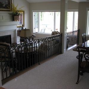 Custom Residential Railing Divider