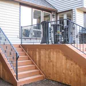 Outdoor Patio Railing