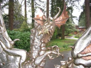 Stainless Steel Dragon Gate