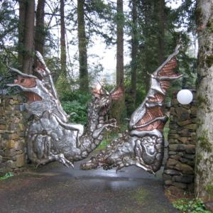 dragongatecustonblacksmithing Stratford gate systems