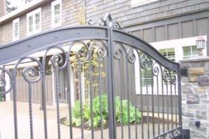 Iron Mountain Elegant Custom Driveway Gate