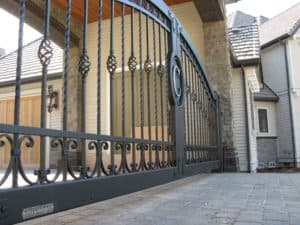Ford Elegant Impressive Private Automated Driveway Gate