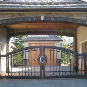 monogramedprivatedrivewaygatecannardd2 scaled 1 Stratford gate systems