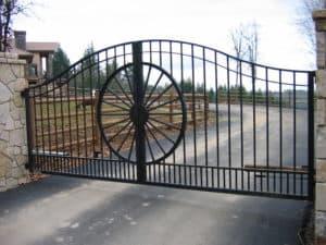 Western Custom Wagon Wheel Center Piece