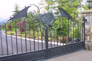 Wilson Gate Scrolls Custom Ornamental